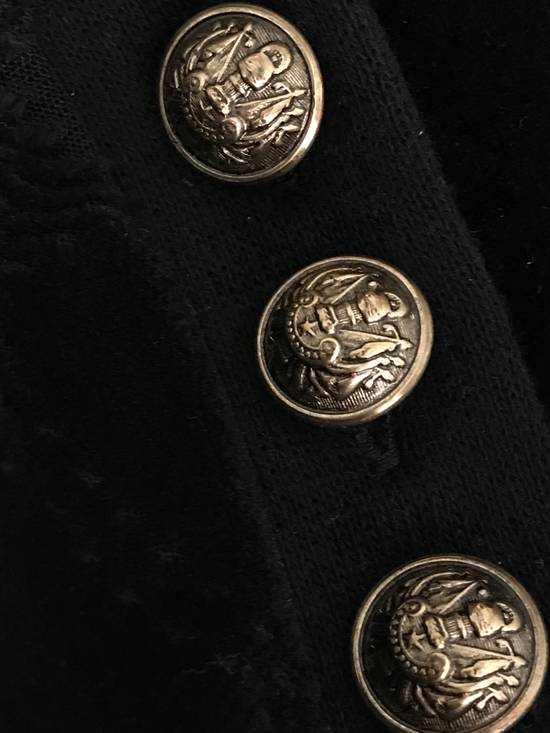 Balmain Size Small - Checked Button Shoulder Sweatshirt- FW16 - $1050 Retail Size US S / EU 44-46 / 1 - 4