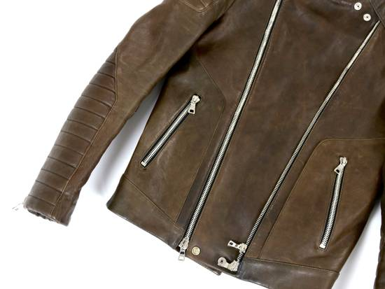 Balmain F/W 12 Leather Jacket Size US M / EU 48-50 / 2 - 1