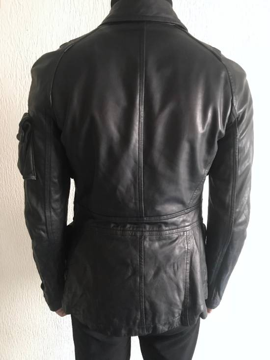 Julius LAST DROP! Julius GASMASK Leather Jacket Size US S / EU 44-46 / 1 - 11