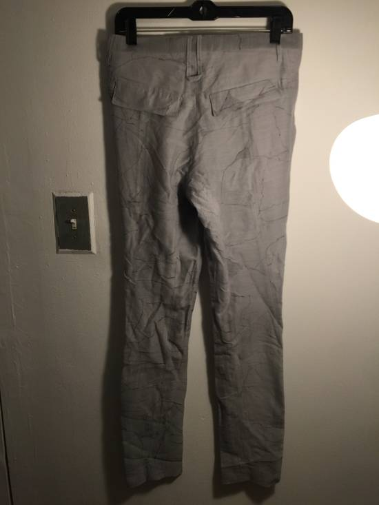 Julius MA JULIUS RUNWAY SAMPLE MARBLE PRINT TROUSERS VERY RARE Size US 28 / EU 44 - 2
