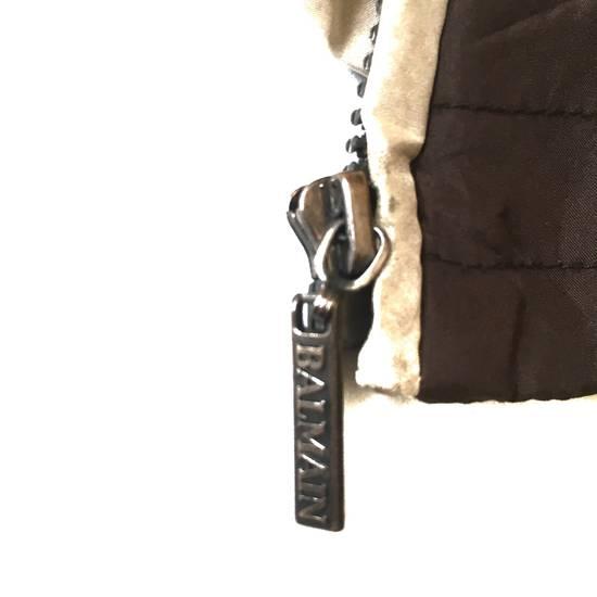 Balmain Final Drop! Balmain Quilted Silk Jacket Size US S / EU 44-46 / 1 - 5