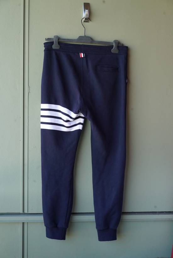 Thom Browne 4 Bar Navy Sweatpant Size US 30 / EU 46 - 2