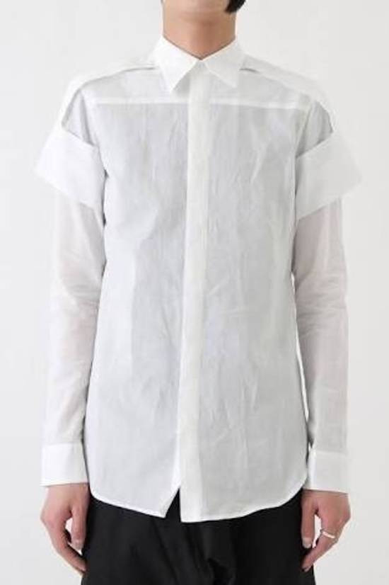 Julius Julius 7 layered band shirt from SPRING/SUMMER 2017 COLLECTION [ Knives; ] Size US S / EU 44-46 / 1 - 5