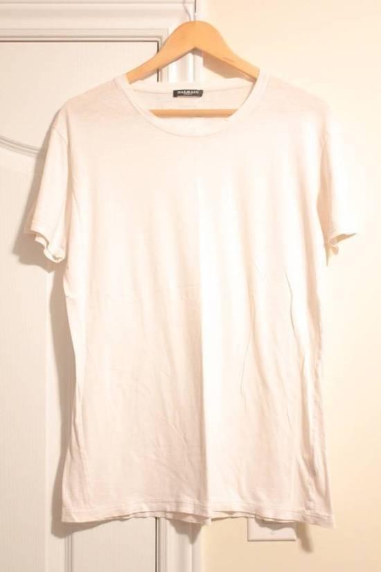 Balmain Decarnin 2011 White T Shirt Made in France Size US M / EU 48-50 / 2 - 1