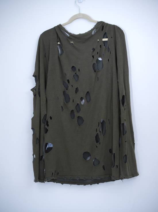 Balmain Decarnin Ripped T-shirt Size US M / EU 48-50 / 2 - 1