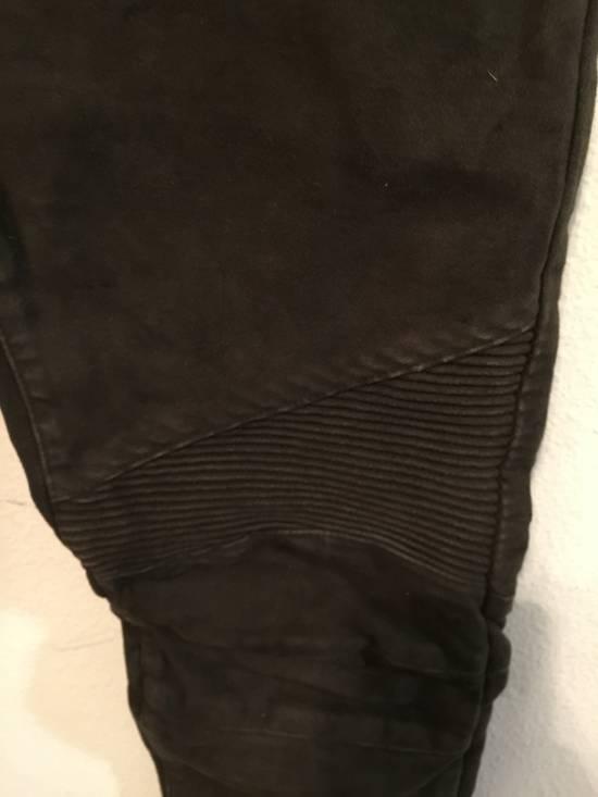 Balmain Mole Skin Biker Jeans *FINAL DROP* Size US 30 / EU 46 - 7