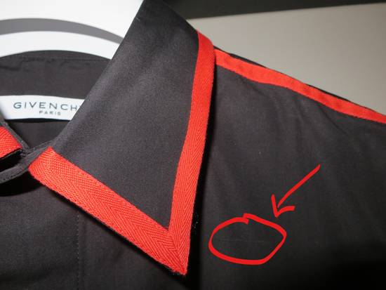 Givenchy Contrast trim shirt Size US S / EU 44-46 / 1 - 6