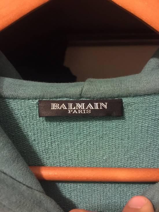 Balmain Teal Zip Up Hoody Size US M / EU 48-50 / 2 - 1