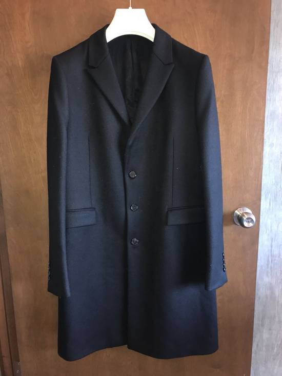 Givenchy FW12 Two Piece Black Wool Peacoat sz 48 double layer coat Riccardo Tisci Size US M / EU 48-50 / 2 - 9