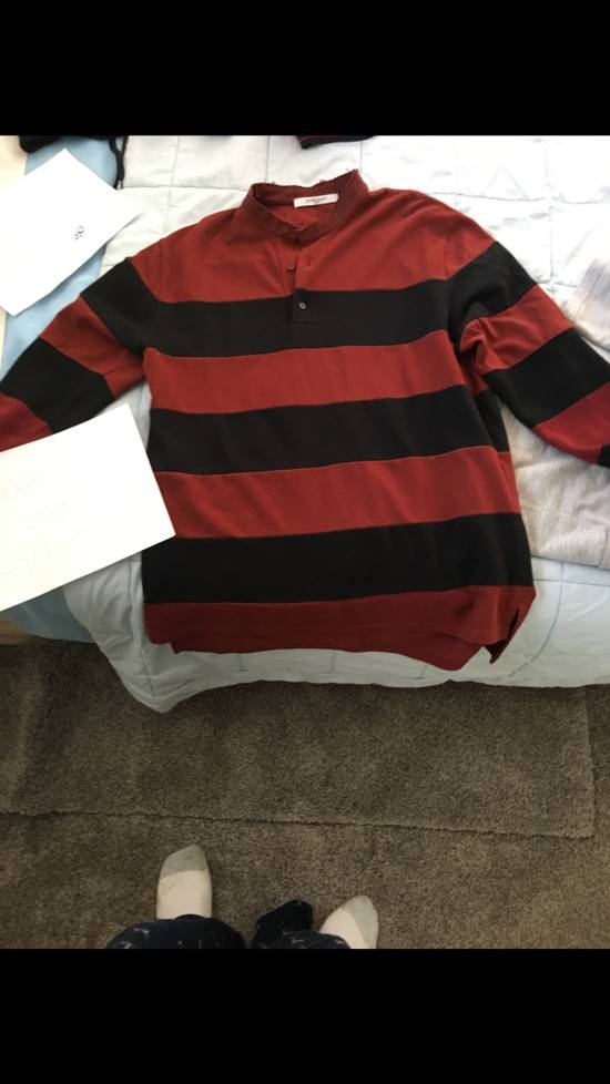 Givenchy Givenchy Striped Knit Polo Size US L / EU 52-54 / 3