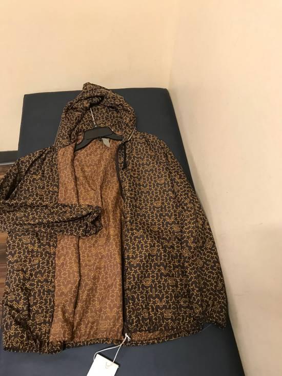 Givenchy Brown Star & Logo Contrast Zipper Size US L / EU 52-54 / 3 - 17
