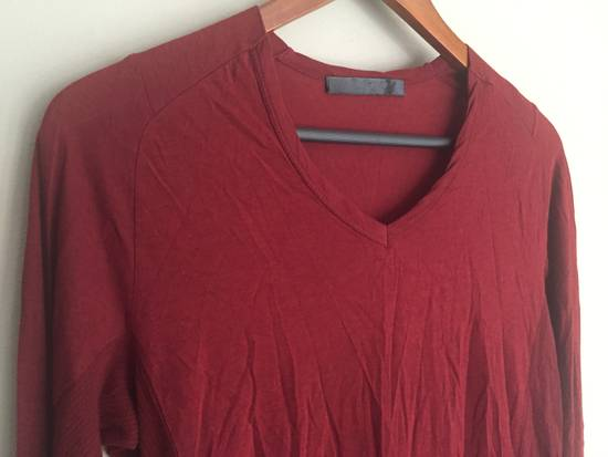 Julius SS09 Cotton/Silk Distressed Longsleeve Size US S / EU 44-46 / 1 - 2