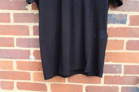 Givenchy Black Distressed Logo T-shirt Size US S / EU 44-46 / 1 - 3