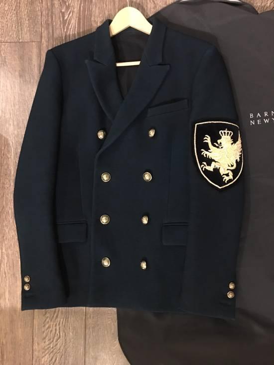 Balmain Badge-embellished Wool Military Jacket Size US M / EU 48-50 / 2