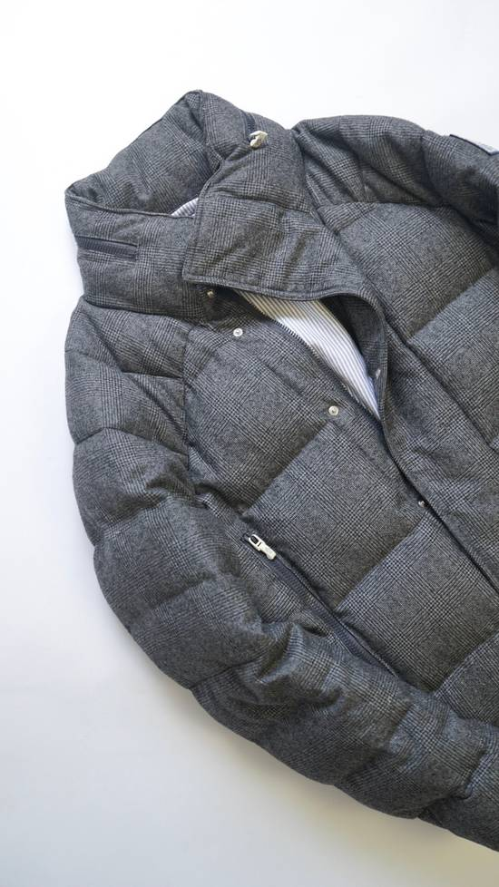 Thom Browne RARE COLLECTOR'S ITEM Gamma Bleu By Thom Browne Wool Glen Plaid Down Jacket Size US L / EU 52-54 / 3 - 2