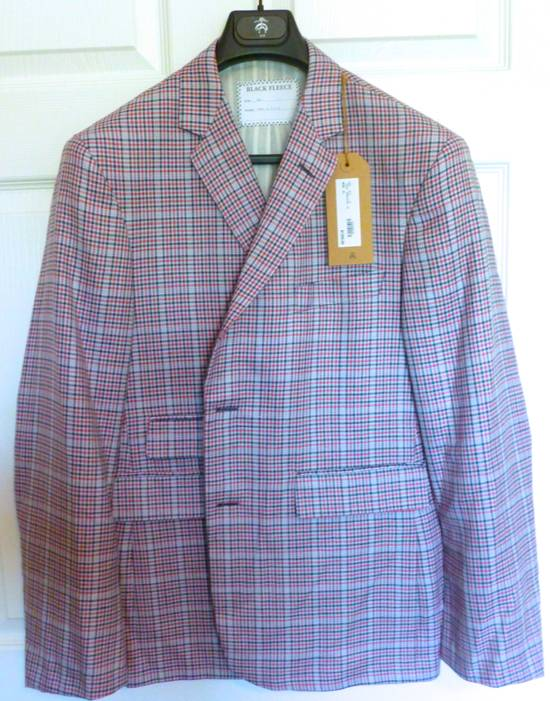 Thom Browne Black Fleece Plaid Blazer, NWT Size 42R