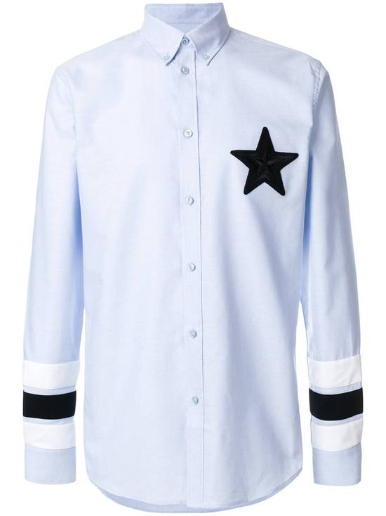 Givenchy Embroidered star applique shirt Size US L / EU 52-54 / 3 - 1