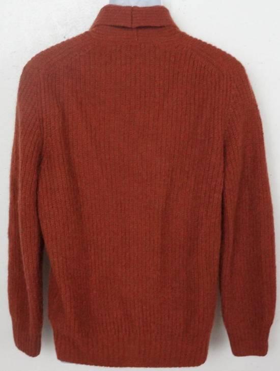 Suitsupply Rust Shawl Cardigan Size US L / EU 52-54 / 3 - 1