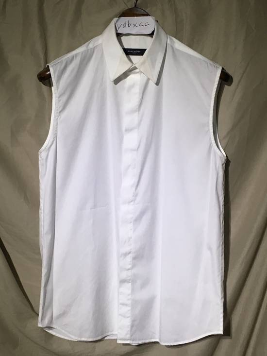 Givenchy SS13 WHITE COLLAR DETAILED SHIRT Size US XS / EU 42 / 0