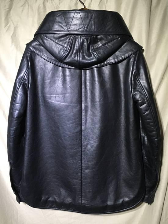 Givenchy FW09 LEATHER HOODED PADDED JACKET Size US S / EU 44-46 / 1 - 4