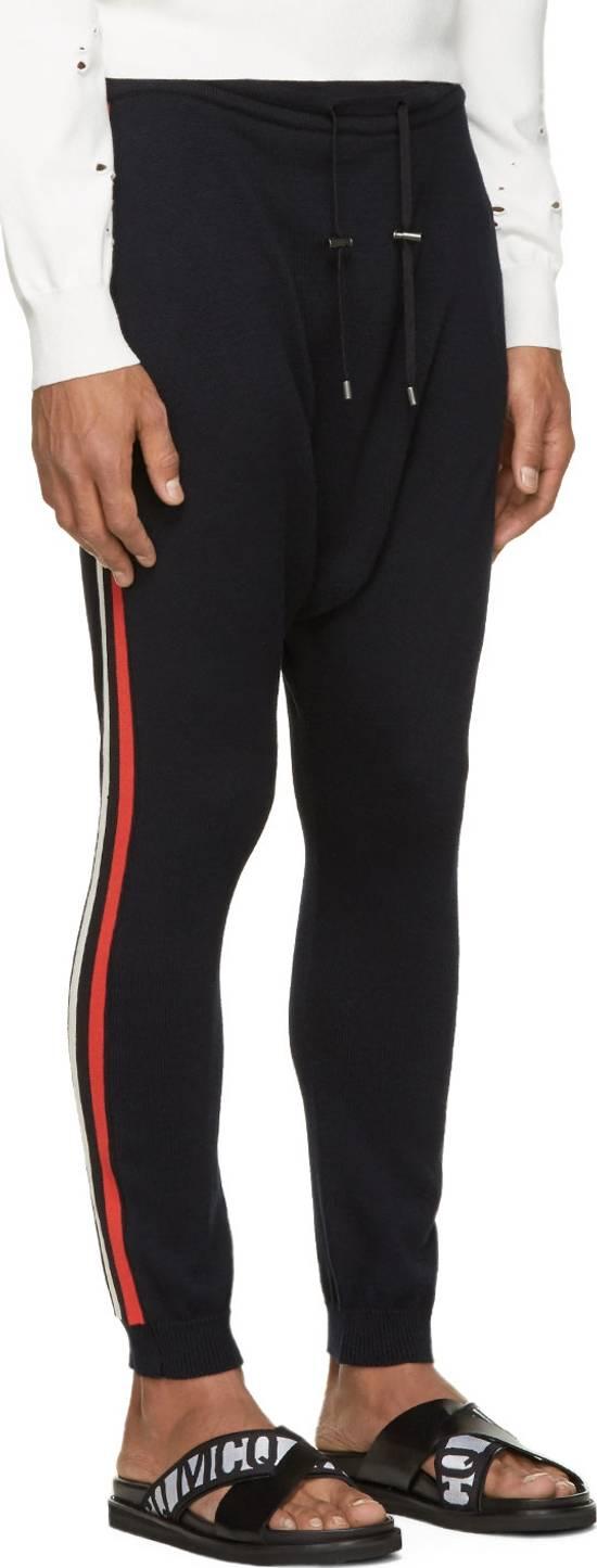 Balmain Balmain Navy Knit Harem Lounge Pants Size US 30 / EU 46