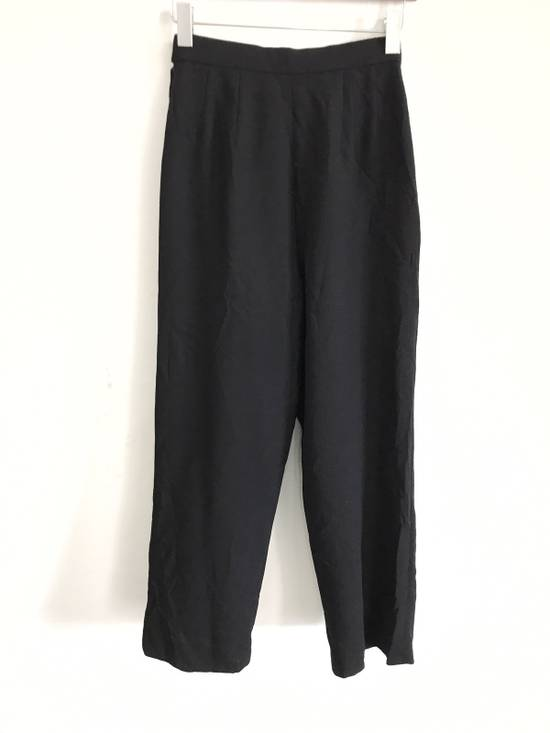 "Givenchy Vintage Givenchy Life Wool High Waist Black Pants Waist 27""x40"" Size US 27 - 3"