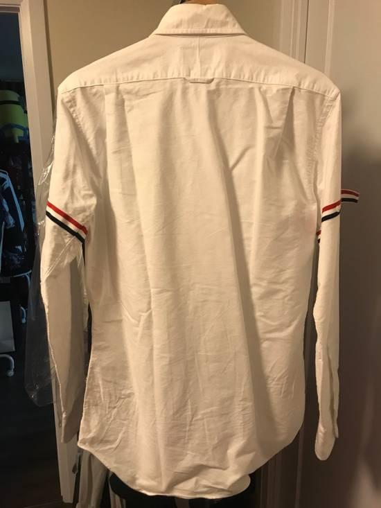 Thom Browne Grosgrain Armband Oxford Shirt Size US M / EU 48-50 / 2 - 1
