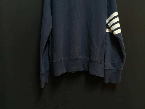 Thom Browne USA classic stripes navy sweatshirt Size US M / EU 48-50 / 2 - 2