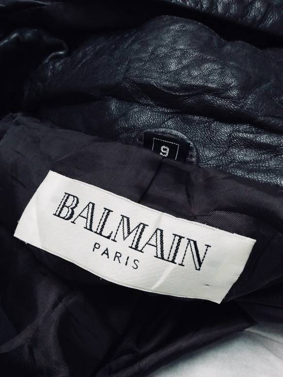 Balmain Balmain Jacket Soft Leather Size US M / EU 48-50 / 2 - 11