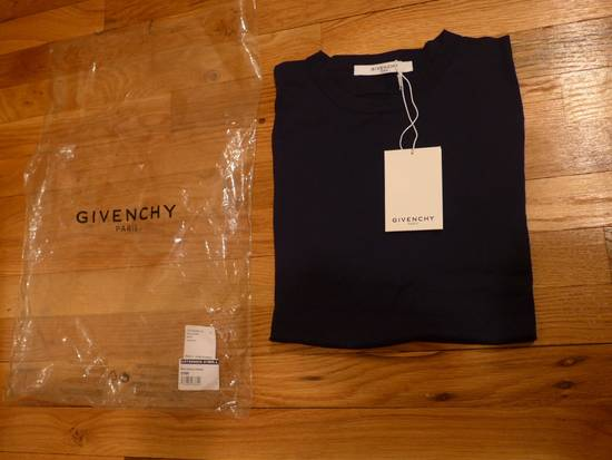 Givenchy GIVENCHY NWT NAVY WOOL SWEATER SIZE L Size US L / EU 52-54 / 3 - 1