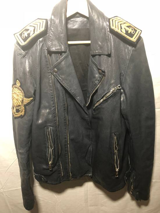 Balmain Sailor's Leather Jacket Size 50 Size US M / EU 48-50 / 2 - 4