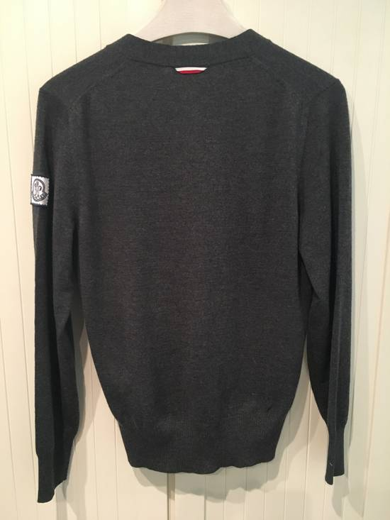 Thom Browne Gamme Bleu Wool Knitted Cardigan in Grey Size US M / EU 48-50 / 2 - 4