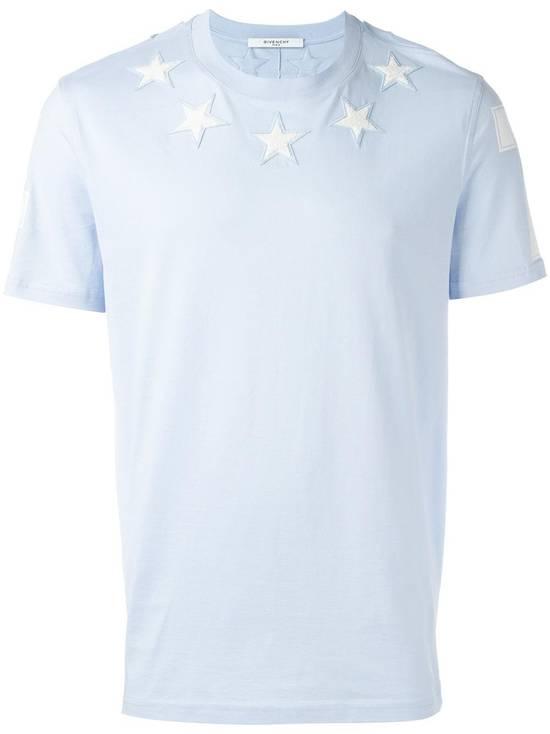 Givenchy Baby Blue 5 Stars T-shirt Size US XL / EU 56 / 4 - 1