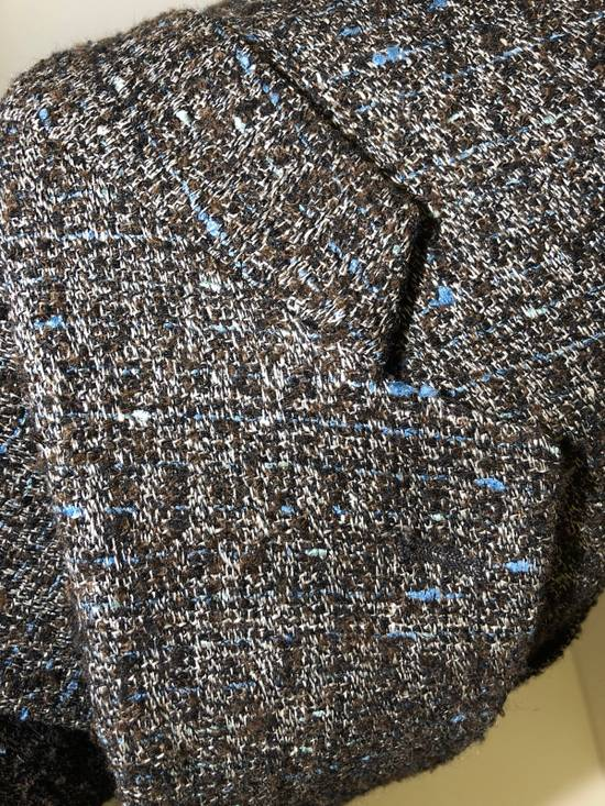 Givenchy Givenchy Blazer Wool Coffee Blue Size 38R - 2