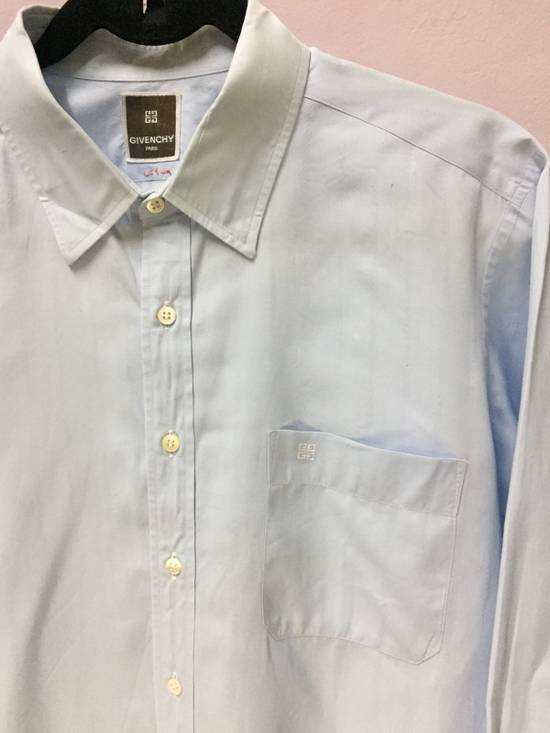 Givenchy Ocean Blue Givenchy Paris Shirt Button Size US M / EU 48-50 / 2 - 1