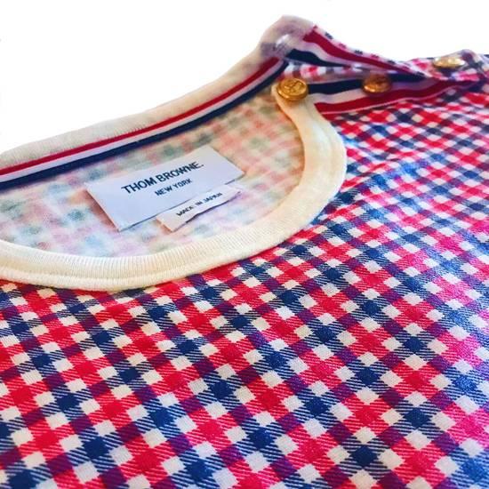Thom Browne Thom Browne Plaid Pullover Shoulder Vent Size US XXS / EU 40 - 2