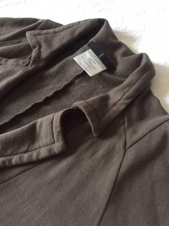 Julius Japan made long jersey oversize Popper fastening Gasmask pocket jacket Size US S / EU 44-46 / 1 - 14