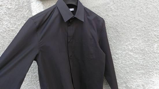Givenchy Givenchy Black Chest Pocket Plain Rottweiler Shark Men's Shirt size 39 (M) Size US M / EU 48-50 / 2 - 1