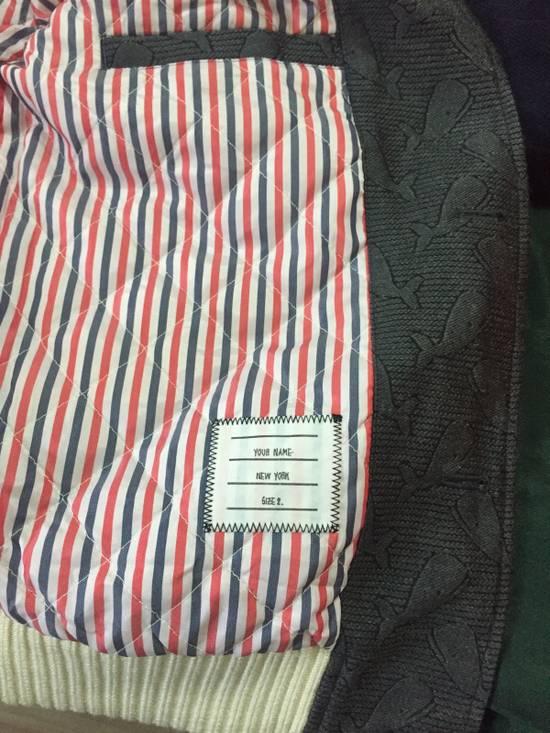 Thom Browne Whales Wool Varsity Jacket Size US M / EU 48-50 / 2 - 4