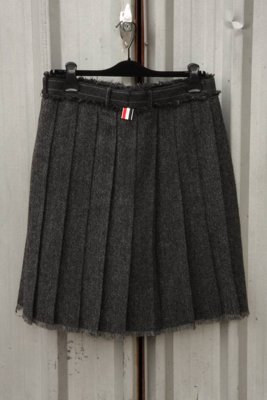 Thom Browne FW14 Runway Wool Kilt Shorts Size US 29 - 1