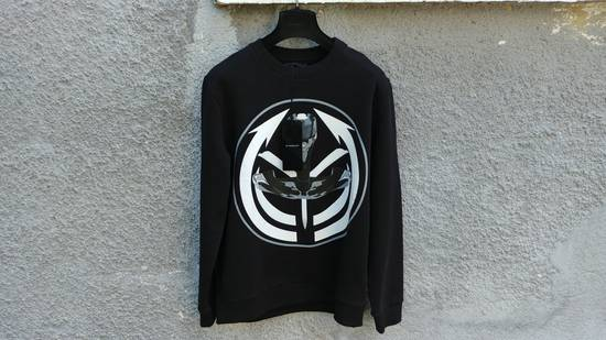 Givenchy $725 Givenchy Tribal Occult Target Print Rottweiler Shark Stars Relaxed Fit Men's Sweater size M Size US M / EU 48-50 / 2