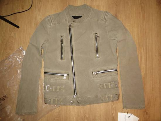 Balmain Zip biker jacket Size US XL / EU 56 / 4 - 6