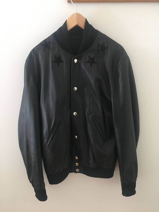 Givenchy Givenchy Leather Star Collar Bomber Jacket Size US M / EU 48-50 / 2