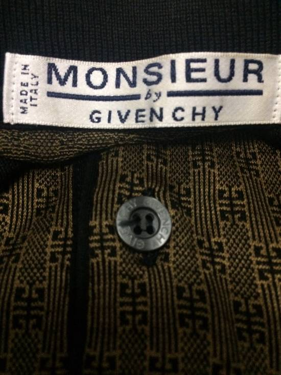 Givenchy Rare Vintage Monsieur by Givenchy Pocket Polo Shirt Italian Top Designer MEDIUM Made in Italy. Size US M / EU 48-50 / 2 - 4
