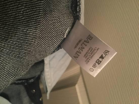 Balmain Indigo Cropped Denim Size US 32 / EU 48 - 3