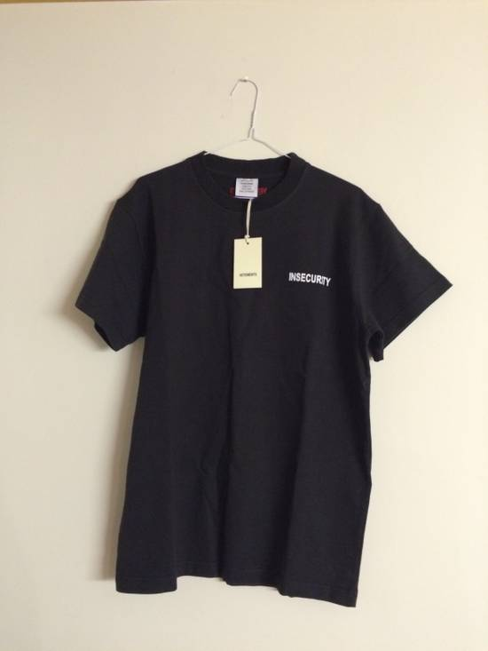 Vetements Vetements Insecurity T-Shirt Size US M / EU 48-50 / 2