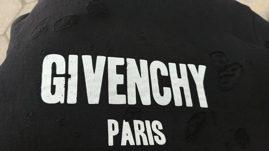 Givenchy $1300 Givenchy Black Destroyed Distressed Logo Rottweiler Shark Sweater size S Size US S / EU 44-46 / 1 - 11