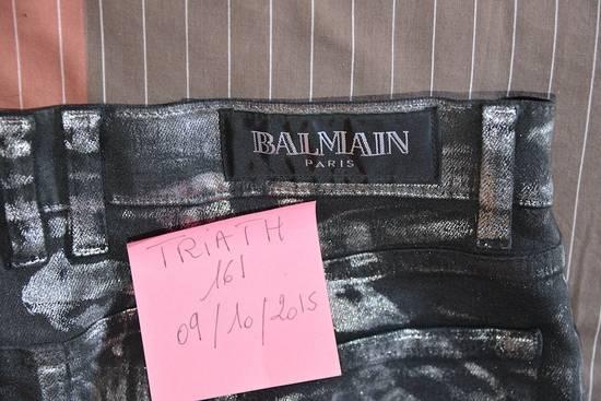 Balmain Silver stretch cropped pants Size US 33 - 7