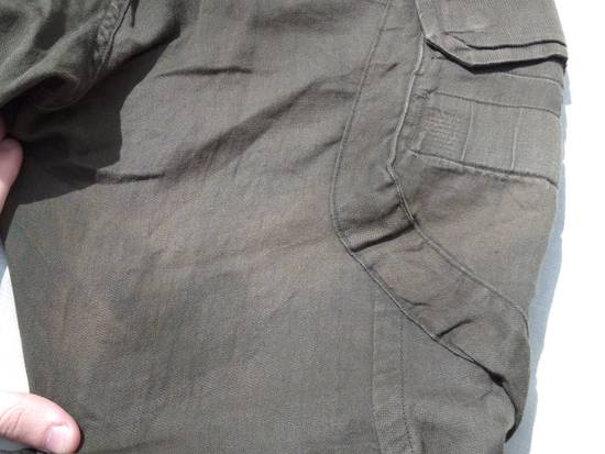 Julius Green Linen Blend Gas Mask Cargo Pants Size US 30 / EU 46 - 10