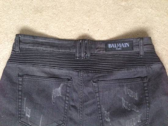 Balmain Distressed Black Shorts Size US 34 / EU 50 - 1